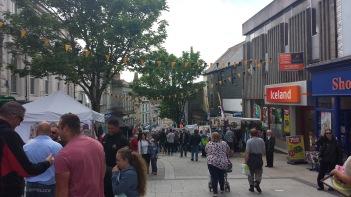Fore Street on Murdoch Day